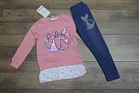 Комплект-двойка (пайетка-перевертыш) для девочек 3-8 лет