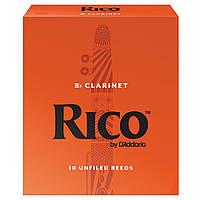 Трости для кларнета RICO Bb Clarinet #1.5 - 10 Box