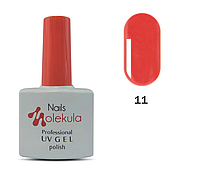 Гель-лак Nails Molekula №11 алый