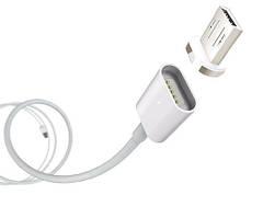 Магнитная зарядка Data кабель для телефона USB - micro USB на магнитах magnetic cable под любой гаджет
