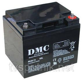 Аккумулятор DMC PK12-40 GEL (40A*ч 12В)