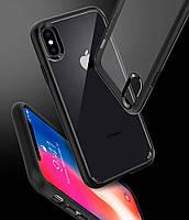 Чехол Spigen для iPhone X Ultra Hybrid, Matte Black, фото 1