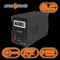 ИБП для котла с правильной синусоидой  LPY-B-PSW-800VA+ (560W) 5A/15A 12V