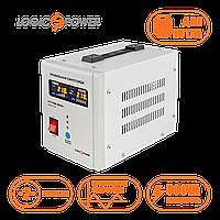 ИБП для котла с правильной синусоидой LPY-PSW-500VA+ (350W) 5A/10A 12V