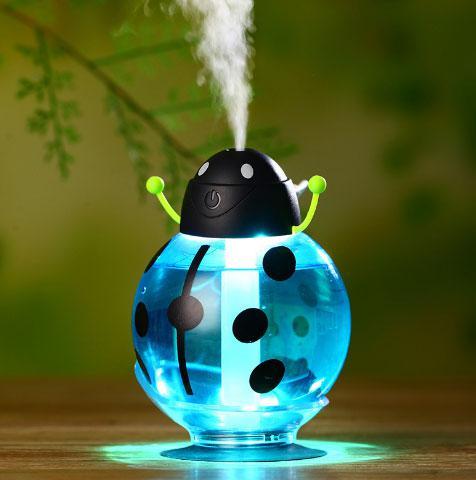 Увлажнитель воздуха в виде жучка с Led подсветкой