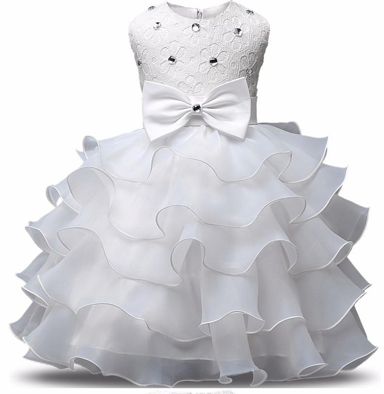 Платье белое бальное выпускное нарядное для девочки