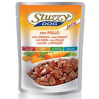 STUZZY Dog Chicken Jelly ШТУЗИ КУРИЦА в желе корм для собак, пауч, 100г (0.1)