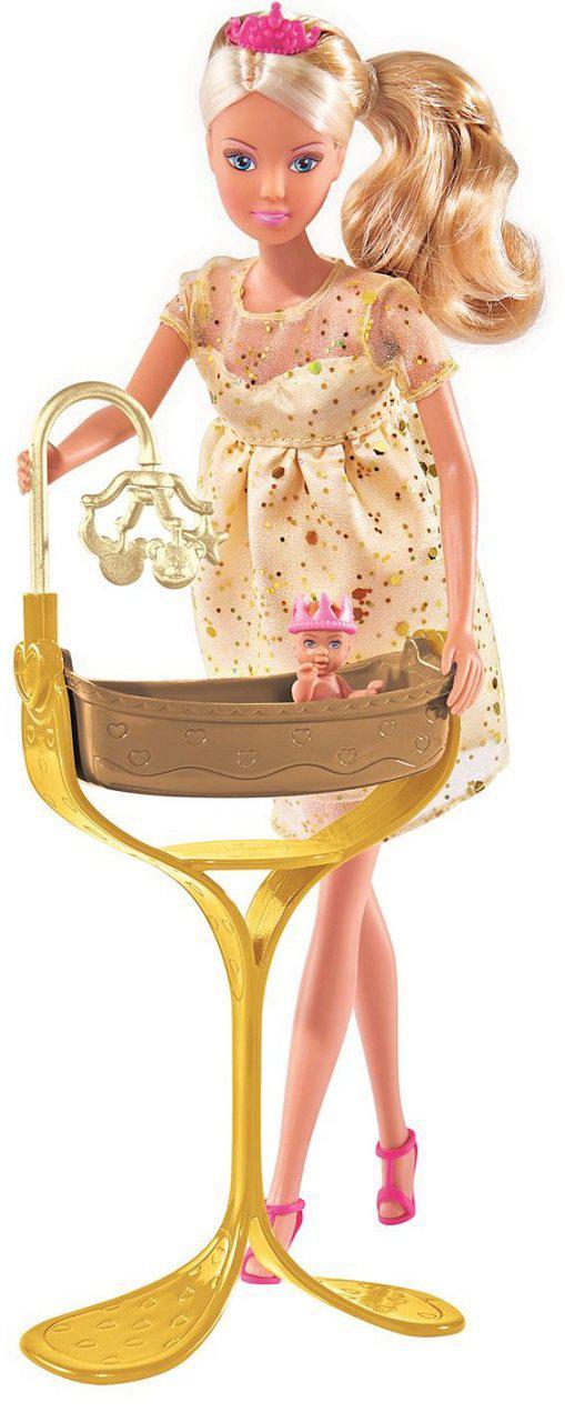 Кукла Штеффи Беременная с люлькой Steffi 5737084