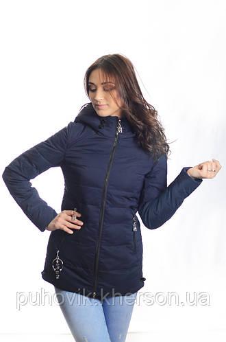 e916b91045e Куртка женская деми Meajiateer M1835 т.синий  продажа