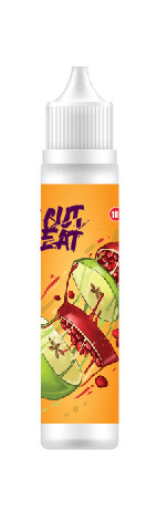 Жидкость для электронных сигарет Relakes CUT EAT -APPLE & POMEGRANATE 60мл (яблоко+гранат)