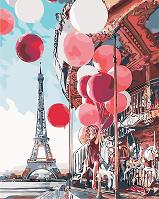 Картина по номерам Парижская сказка