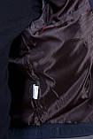 Чоловіча куртка (вітровка) кольору хакі., фото 6