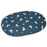 Karlie-Flamingo (КАРЛИ-ФЛАМИНГО) CUSHION SCOTT лежак-подушка для собак с водостойкой поверхностью и ZIP замком, с рисунком (50 см)