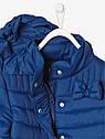 Ультралегкая демисезонная курточка Vertbaudet (Франция) для девочки в синем цвете, фото 3