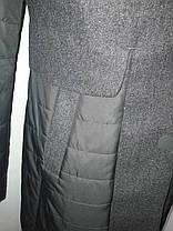 """Button"", демисезонный френч 90-560 темно-серый, фото 3"
