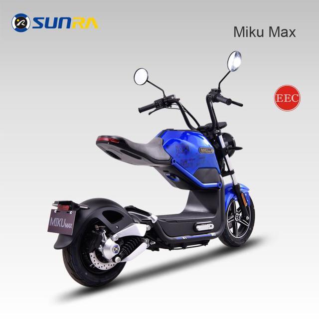 Электроскутер Sunra Miku Max