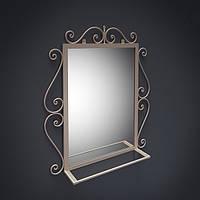 Зеркало Амбер в кованном обрамлении