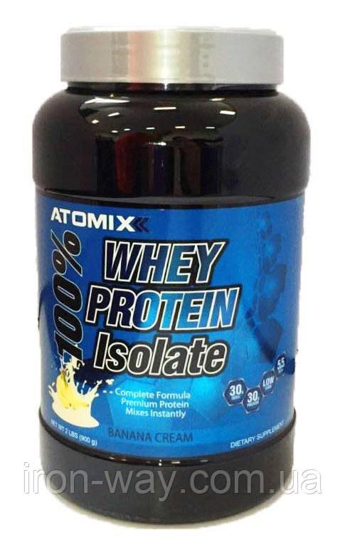 Atomixx 100% Whey Protein Isolate 909 g (Шоколад)