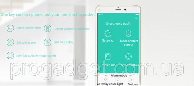 Датчик движения Smart Home Move Detector работа через приложение