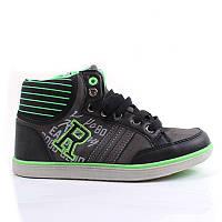 """Кросівки для хлопчика """"Sportlab"""" (Розм.30, Чорний з зеленим)"""