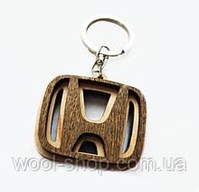 Авто-брелок дерев'яний Honda