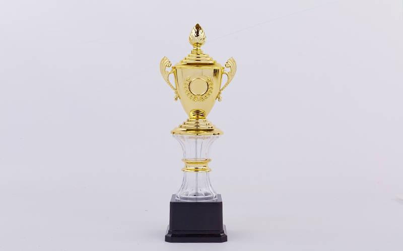 Кубок спортивный с ручками, крышкой и местом под жетон GLORY C-K078C