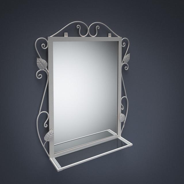 Зеркало Хилтон в кованном обрамлении
