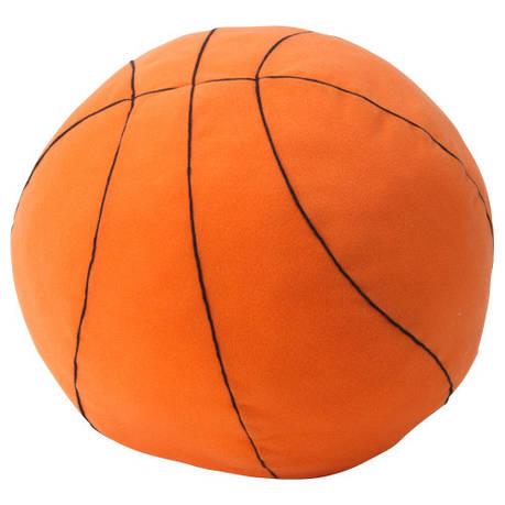 БОЛЛКЭР Мягкая игрушка, баскетбольный мяч, оранжевый, 33 см 40273512 IKEA, ИКЕА, BOLLKÄR, фото 2