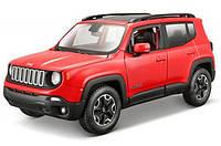 Автомодель Maisto 1:24 Jeep Renegade (31282 met. red)
