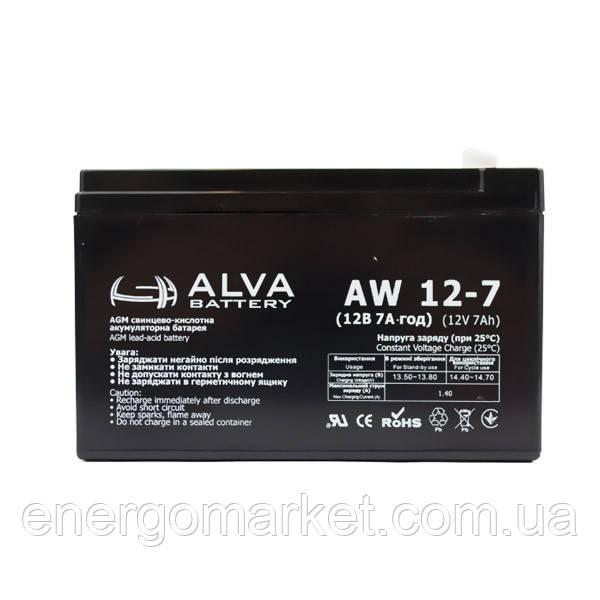 Аккумуляторная батарея ALVA AW12-7.5