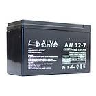 Аккумуляторная батарея ALVA AW12-7.5, фото 3