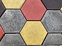 Тротуарная плитка Шестигранник стенд 15