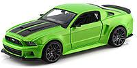 Автомодель Maisto 1:24 New Ford Mustang Street Racer Зелёный металлик (31506 met. Green)