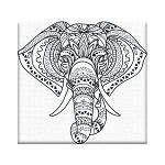 Раскраска антистресс Слонёнок