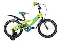 """Велосипед детский 18"""" spelli virage  зеленый"""