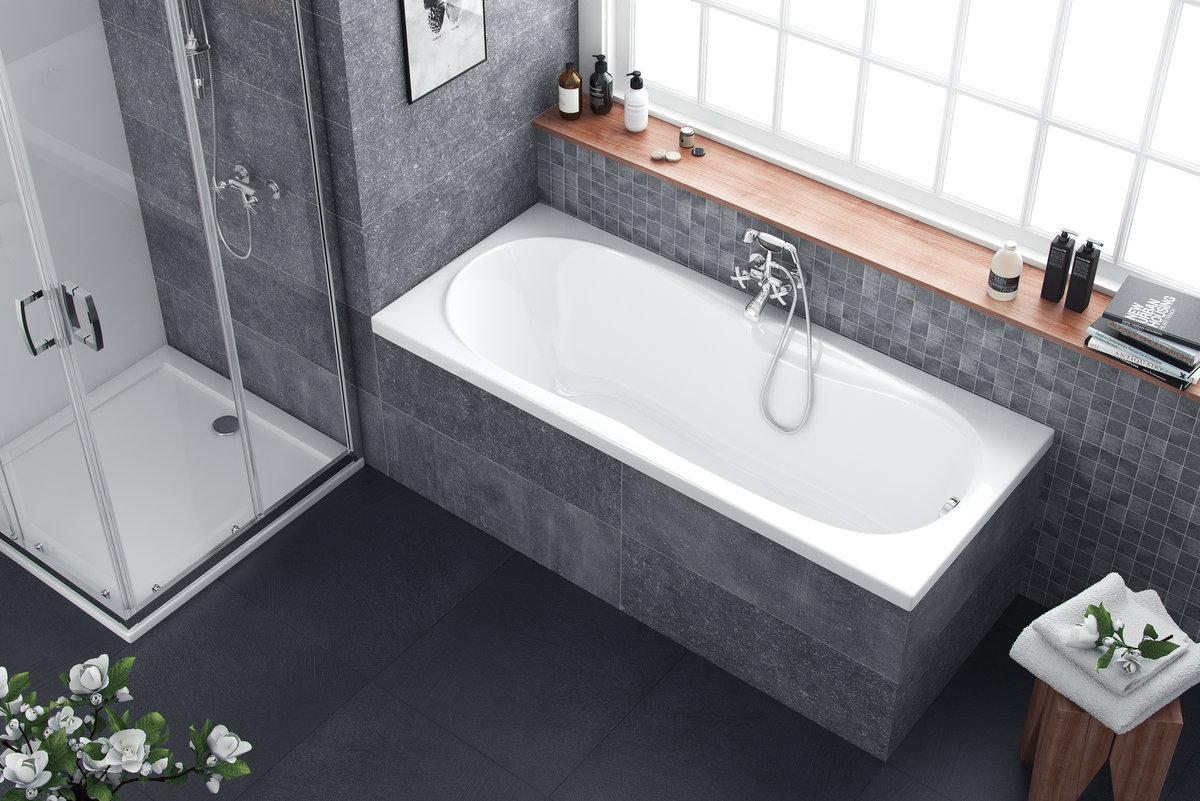 Акрилова ванна Excellent SEKWANA 160х70