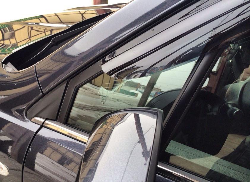 Дефлекторы окон ветровики на HYUNDAI ХУНДАЙ Хендай GRAND SANTA FE III 2013-