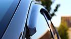 Дефлектори вікон вітровики на HYUNDAI ХУНДАЙ Хендай GRAND SANTA FE III 2013-, фото 2