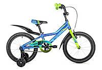 "Велосипед детский 16"" spelli virage  синий"