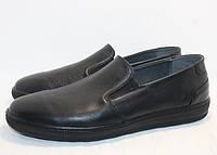 Слипоны IKOS  1425 черные