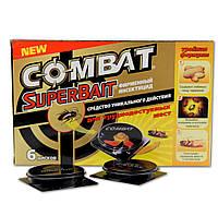 Combat 6 дисков приманка для тараканов