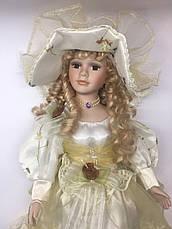"""Кукла сувенирная, подарочная фарфоровая, коллекционная 50 см """" Каролина """" 1303-04, фото 2"""