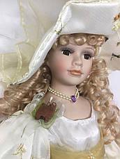 """Кукла сувенирная, подарочная фарфоровая, коллекционная 50 см """" Каролина """" 1303-04, фото 3"""