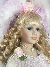 """Фарфоровая кукла коллекционная, сувенирная,  50 см """" Elizabeth """", фото 2"""