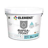 """Краска-грунт """"ELEMENT"""" 8 кг"""