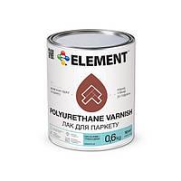 """Глянцевый паркетный лак Polyurethane Varnish """"ELEMENT"""" 0.6 кг"""