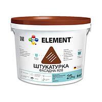 """Фасадная штукатурка R20 """"ELEMENT"""" Дубовая кора 25 кг"""