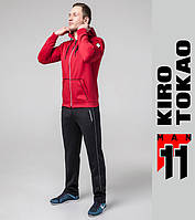 Kiro Tokao 572 | Спортивный мужской костюм красный-белый