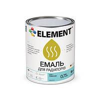"""Эмаль для радиаторов акриловая """"ELEMENT"""" 0.75 л"""