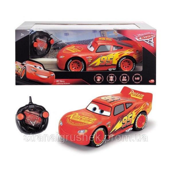 Автомобиль Dickie Toys Cars 3 Герой Молния МакКуин на управлении